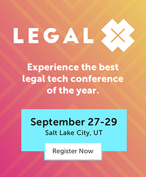 Experience the best legal tech conference of the year at Legal X 2021.