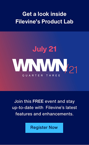 Join this FREE event and stay up-to-date with Filevine's latest features and enhancements at WNWN.