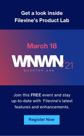 Join this FREE event and stay up-to-date with Filevine's latest features and enhancements